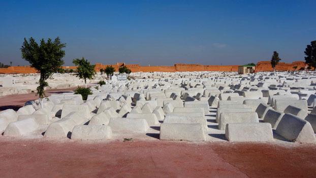 Der jüdische Friedhof, Mellah, Marrakesch