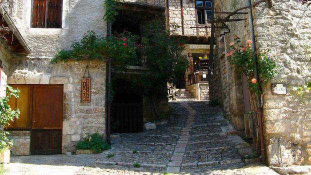 Reisetipps: Sainte-Enimie, Frankreich am Tarn