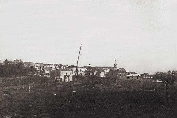 Santa Croce di Magliano agli inizi del Novecento