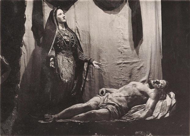statua originaria Addolorata di Castelpetroso donata dal popolo di Colle Sannita (BN)