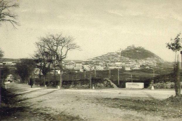 panorama di Campobasso ai primi del Novecento
