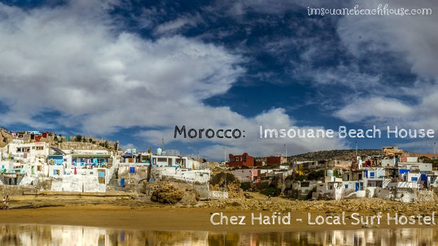 Cathedral beach and surf spot -Imsouane Morocco - www.imsouanebeachhouse.com