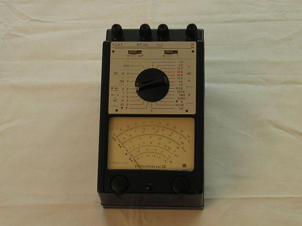 MTM Messtechnik Mellenbach - Multimeter Typ. IV  von 1974
