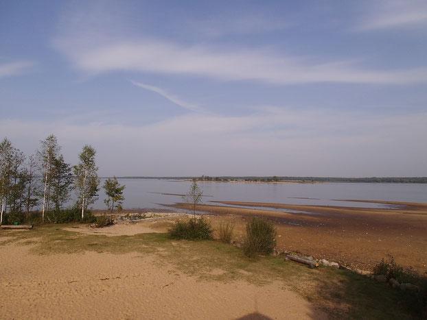 Der Wilejka-See ist der Trinkwasserspeicher für die Hauptstadt Minsk.
