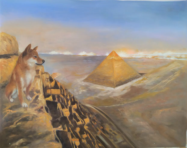 portrait-peinture-animal-renard
