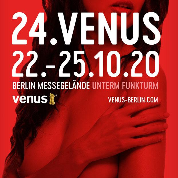 Besuchen Sie uns auf der VENUS BERLIN 2017