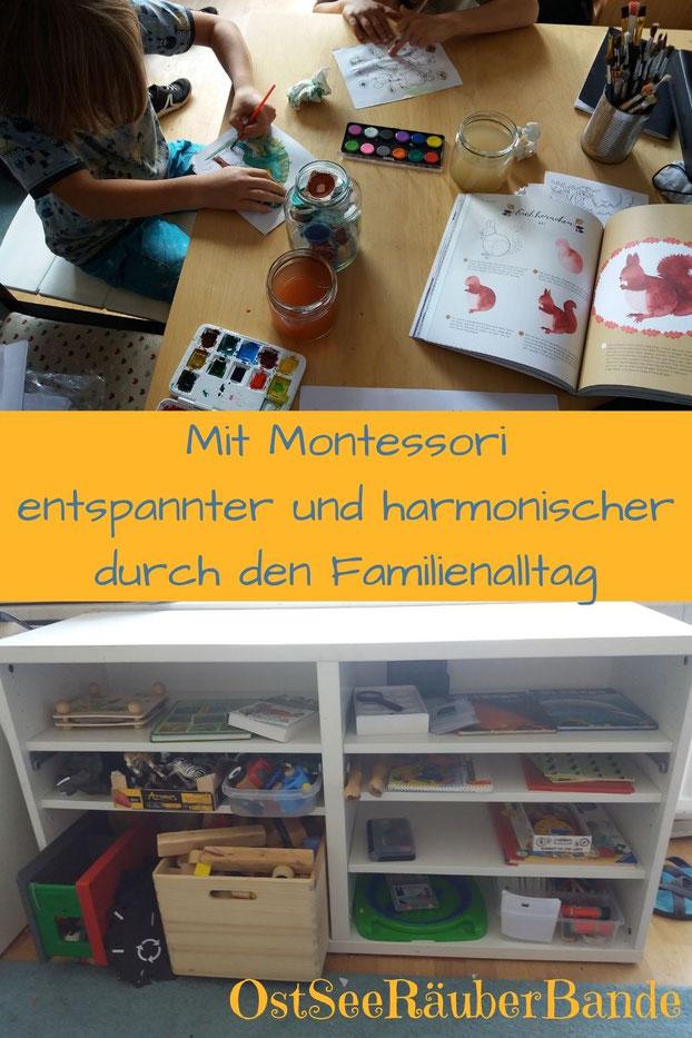 Mit Montessori entspannter und harmonischer durch den Familienalltag