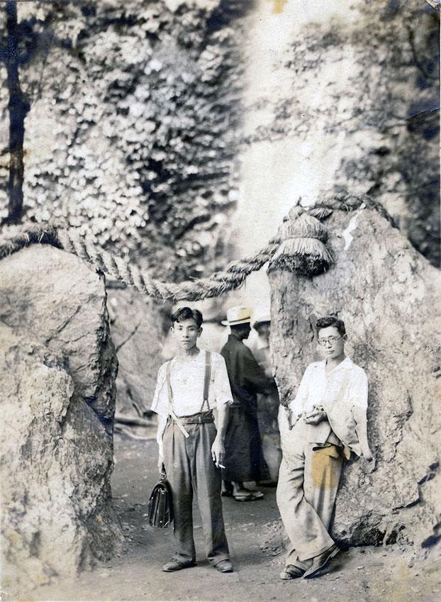 桐生工業の祖父桐生哲男の写真