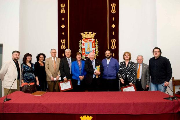 Jueves, 1 de Abril de 2010. Ayuntamiento de Cartagena. Homenaje a los Cartageneros Ausentes.