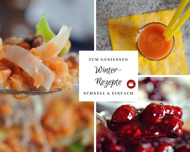 Winter-Rezepte zum Genießen (auch für Thermomix)