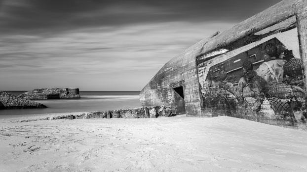 Bunkeranlage am Strand von Vigsø