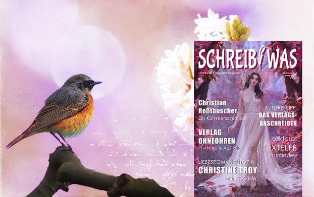 Gleich drei Veröffentlichungen im aktuellen Literatur Magazin