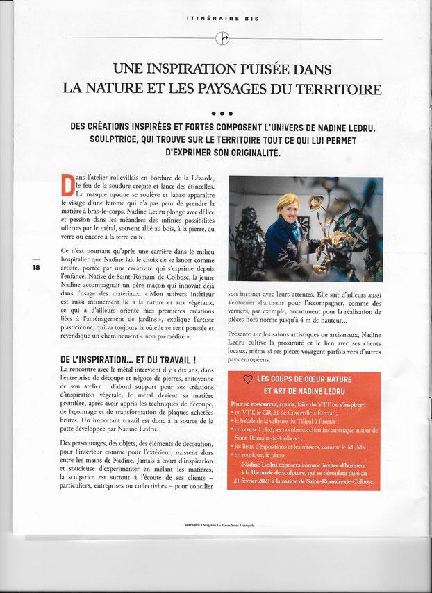 magazine Territoire, hiver 2020