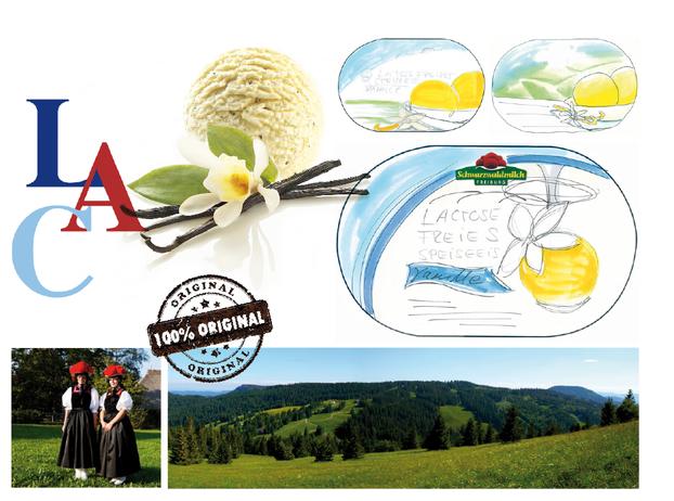 SCHWARZWALDMICH - Lactosefrei - Eis - Genuss - Schwarzwald - Packaging - Design - DesignKis - 2013 - Verpackung