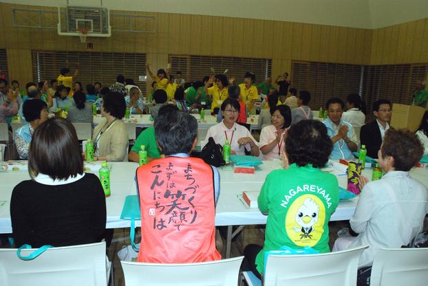交流を深める参加者たち
