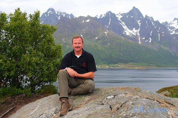 Rainer auf den Lofoten