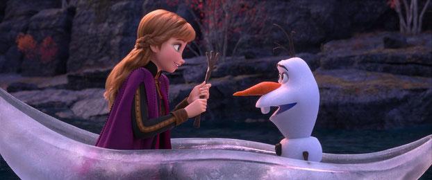 Disney, frozen 2, kinepolis, anna, olaf
