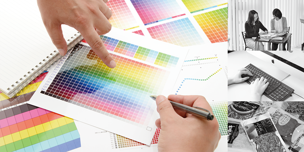 弊社関連企業のデザイン室を使用することによって、短納期のお客様にもスピーディにラベルデザインをお届けすることができます。