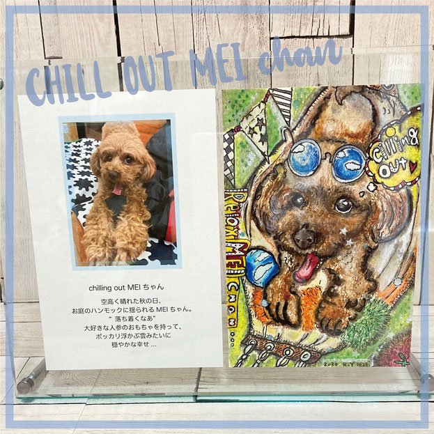 フレームS:chill out Meiちゃん