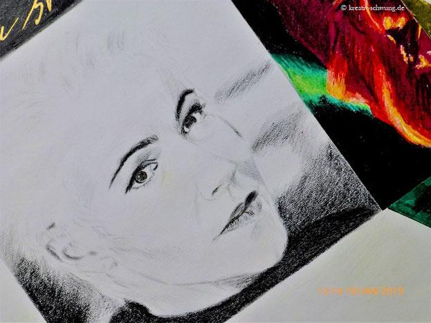 Marie auf dem Soloalbum Den ständiga resan von 1992