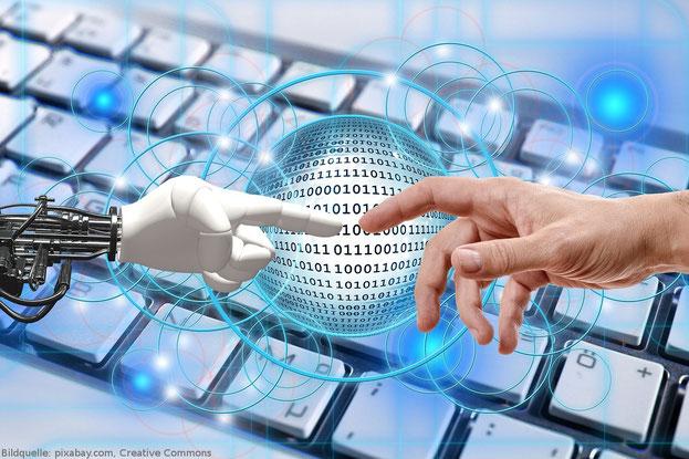 Roboter werden die Arbeitswelt zukünftig immer mehr dominieren.