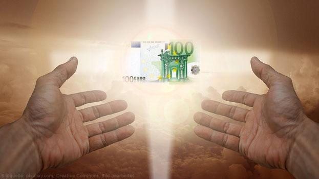 Geld ist eigentlich eine Art Religion.