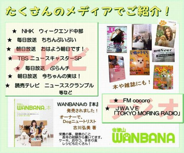 犬ケーキ,手作りおやつ帝塚山WANBANAはたくさんのメディアから注目