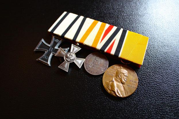 Preußen Große Ordensspange Ordensschnalle Replik Eisernes Kreuz Nichtkämpfer