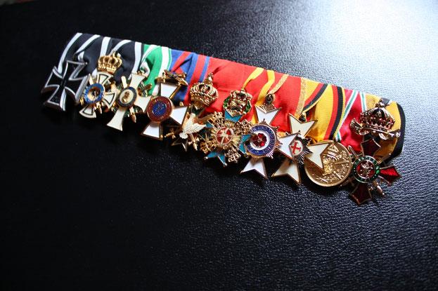 Preußen Große Ordensspange Ordensschnalle Replik WWI Erster Weltkrieg