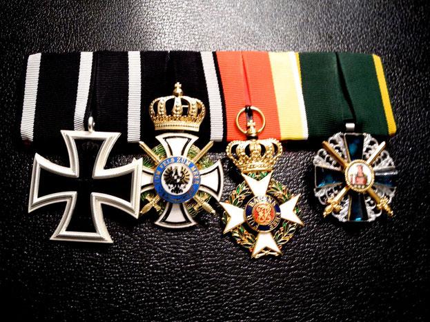 Replikat der Ordensspange von Hauptmann Hermann Göring, Vorderseite