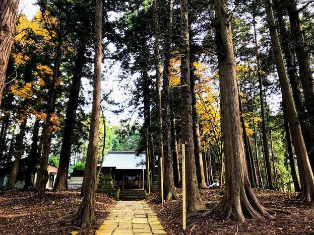 鏡石町 熊野神社