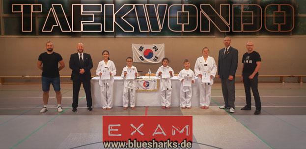 Sommerprüfung in The Hall Of Korean Martial Arts / Wiesbaden Schierstein