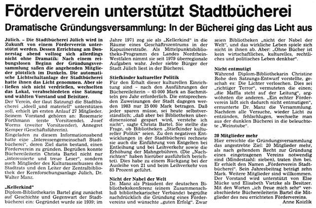 Jülicher Nachrichten vom 19.02.1983