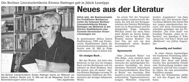 Jülicher Nachrichten vom 17.10.2003