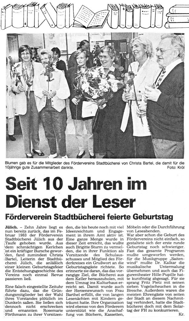 Jülicher Volkszeitung, 5.10.1993