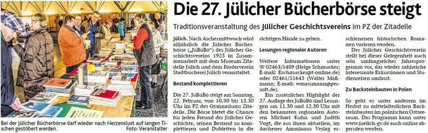 Mi, 4. Feb. 2015 Jülicher Nachrichten / Lokales / Seite 15