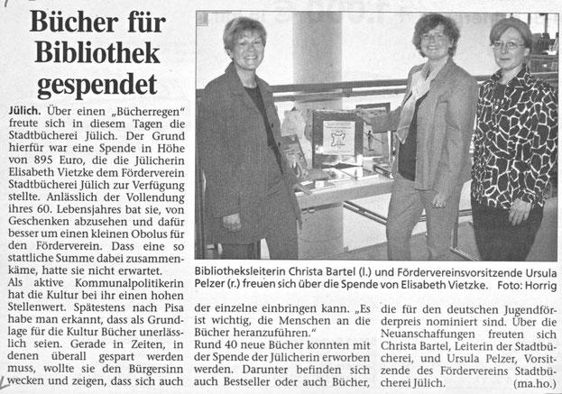 Jülicher Zeitung vom 16.05.2003