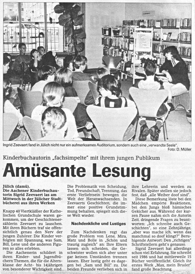 Jülicher Nachrichten vom 13.06.1998