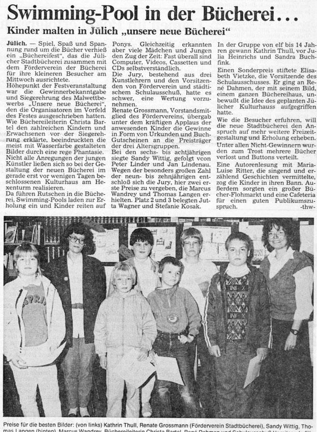 Jülicher Volkszeitung vom 22.05.1987