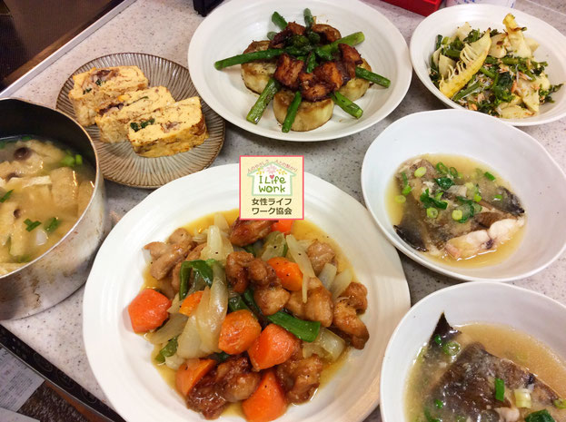 大阪兵庫で家事代行サービスで食事作り家政婦夕食作りで酢豚風な酢を使わない鶏あんかけ