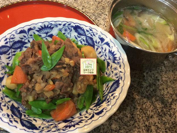 大阪・兵庫の家事代行サービス夕食料理代行で肉じゃが