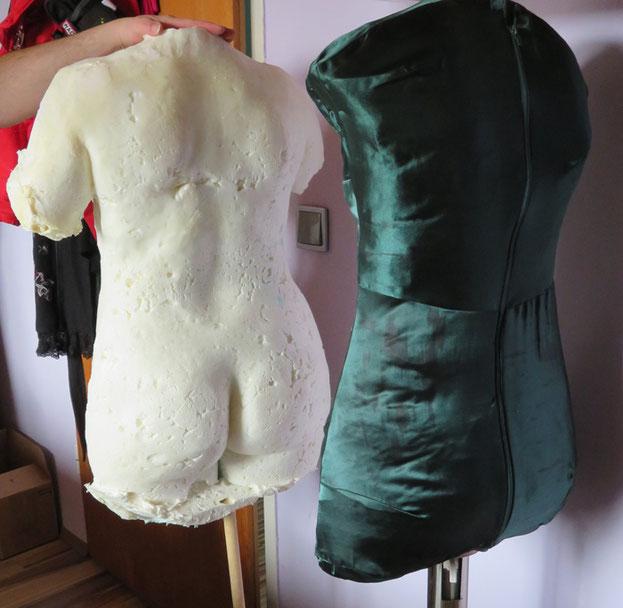 Selber machen kleiderpuppe Schneiderpuppe selber