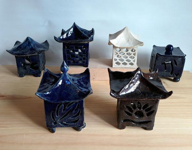 Mari orikasa cerámica japonesa