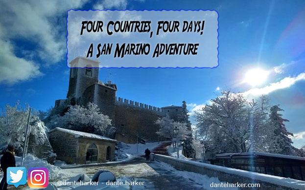 Four Countries, Four days! A San Marino Adventure