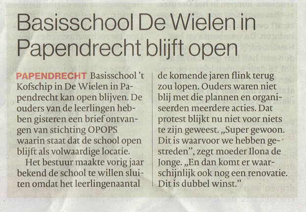 Algemeen Dagblad 27 januari 2018