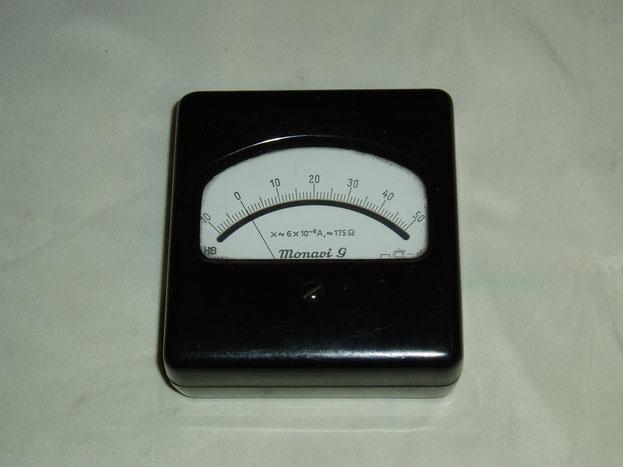 Hartmann & Braun Zeiger Galvanometer Typ. Monavi G