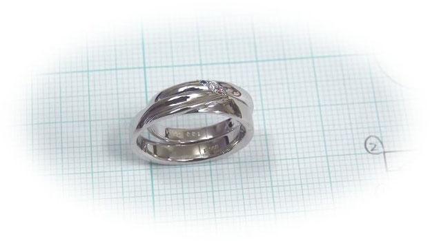双葉に込められた手作り結婚指輪