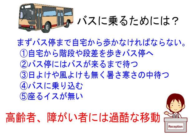 バスに乗るためには