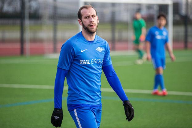 Louis Klotz im Spiel gegen den Bonner SC (Foto: Deutzmann)