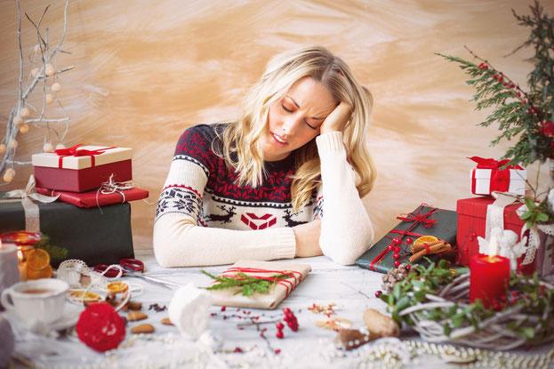 Carole Aubert Psy et Coach Paris Blog - Comment gérer l'angoisse des fêtes de fin d'année?